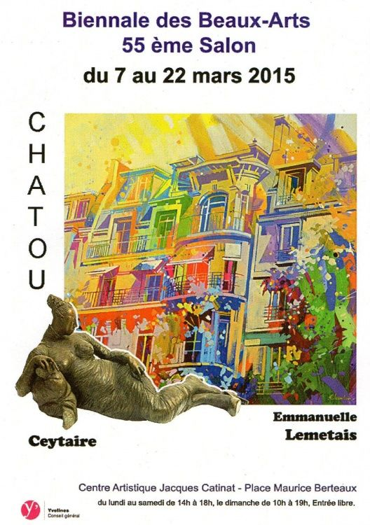 art,  exposition,  Yvelines,  Chatou