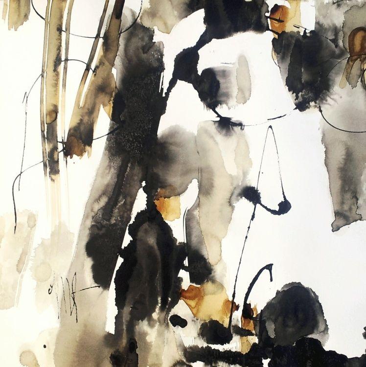 exposition,  art,  abstrait,  expressionisme,  loir-et-cher