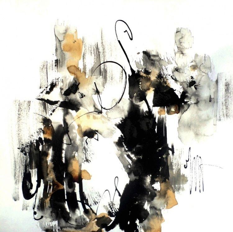 exposition,  peinture,  abstrait,  Oise,  Gouvieux