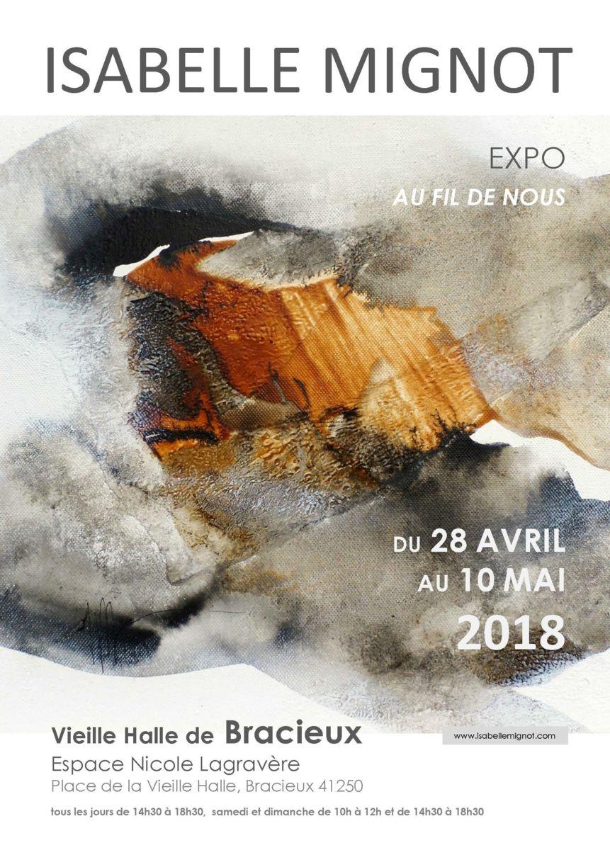 exposition, peinture, art, abstrait, loir et cher